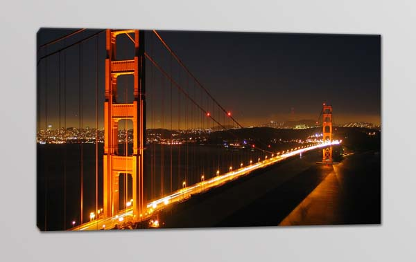 quadro moderno stampa su tela panorama città