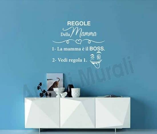 wall stickers regole della mamma decorazione da parete