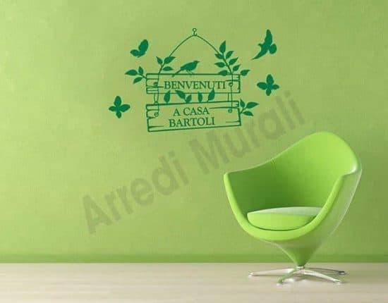 adesivi murali personalizzati decorazioni da parete casa