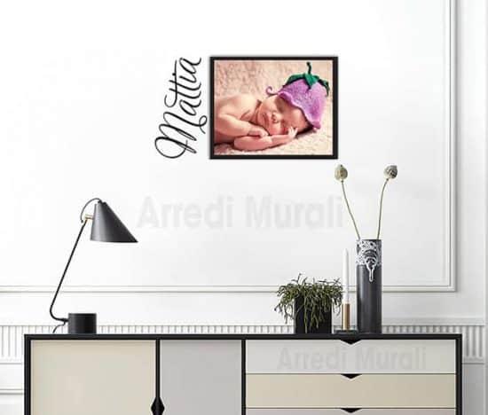 adesivo murale con quadro moderno personalizzati