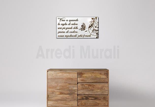 quadro moderno stampa tela frase arte arredo casa