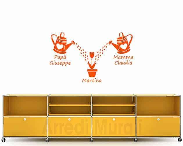 decorazioni da parete personalizzate famiglia adesivi