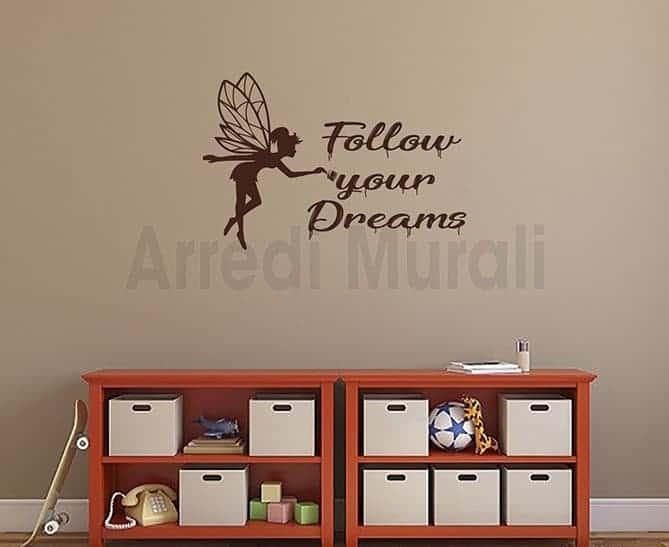 scritte adesive follow your dreams1