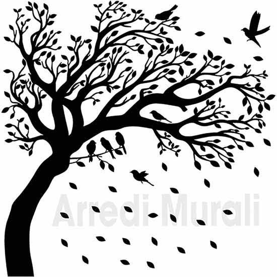 Adesivi murali albero decorazioni da parete come lo riceverai