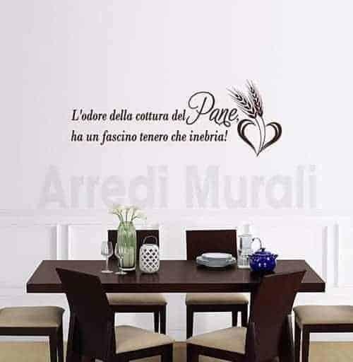 Adesivi murali cucina, decorazioni murali by Arredi Murali