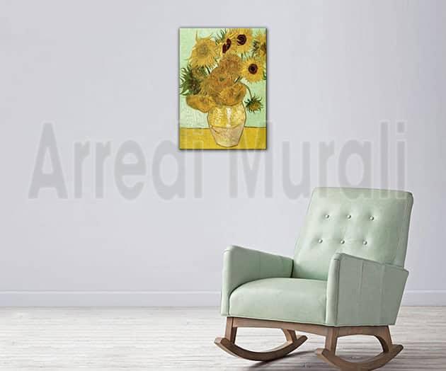 quadro-moderno-Van-Gogh-girasoli-riproduzione-dautore