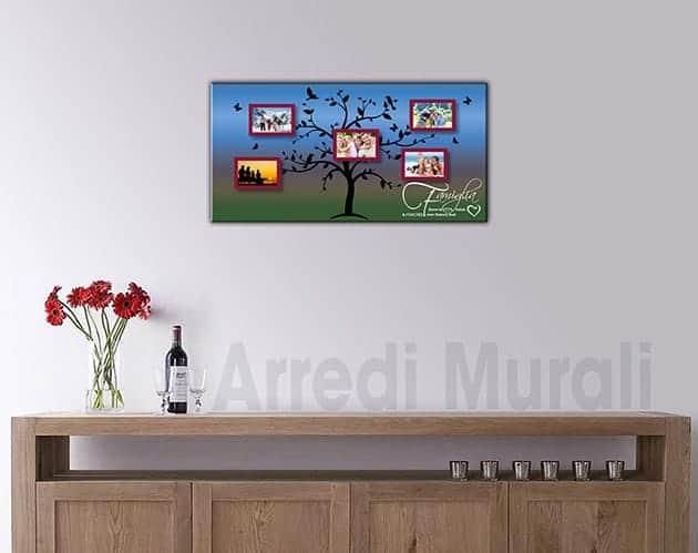quadro moderno personalizzato foto famiglia