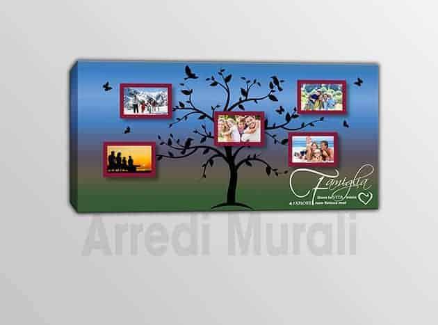 quadro moderno personalizzato stampa foto famiglia