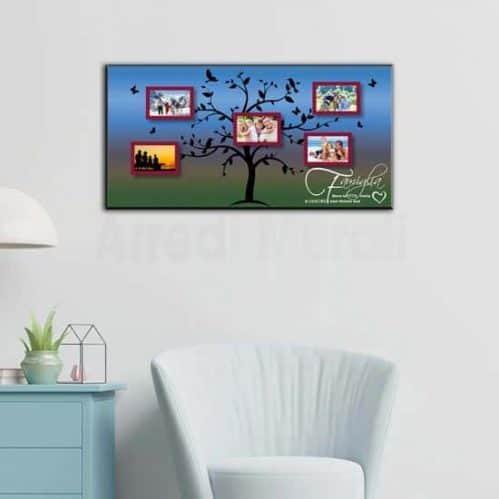 tela con stampa foto personalizzate