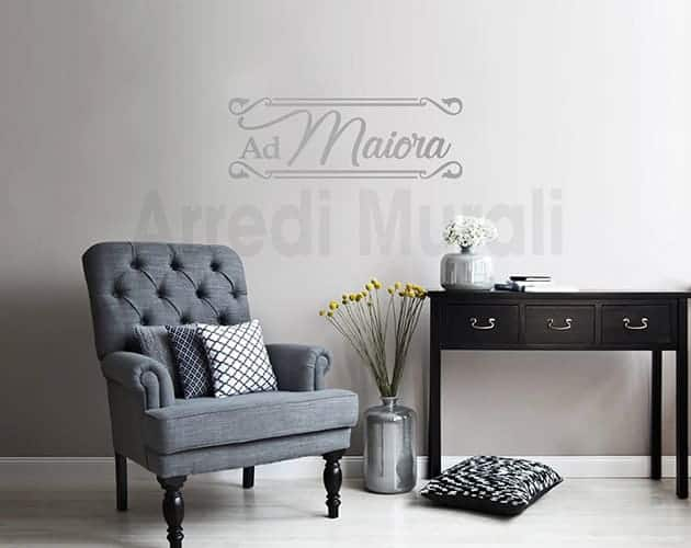 wall stickers frase ad maiora decorazioni murali