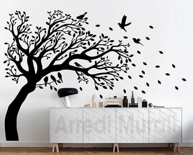 Adesivi murali albero decorazioni da parete casa - Decorazioni da parete ...