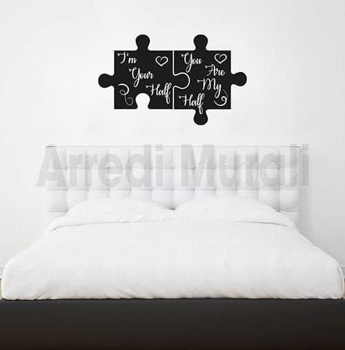 Adesivi murali camera da letto, anche personalizzati