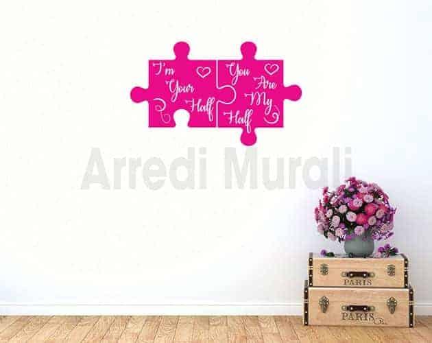 decorazioni da parete frasi amore adesivi murali