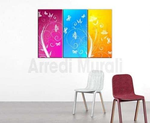 quadri moderni stampe tela decorazioni floreali