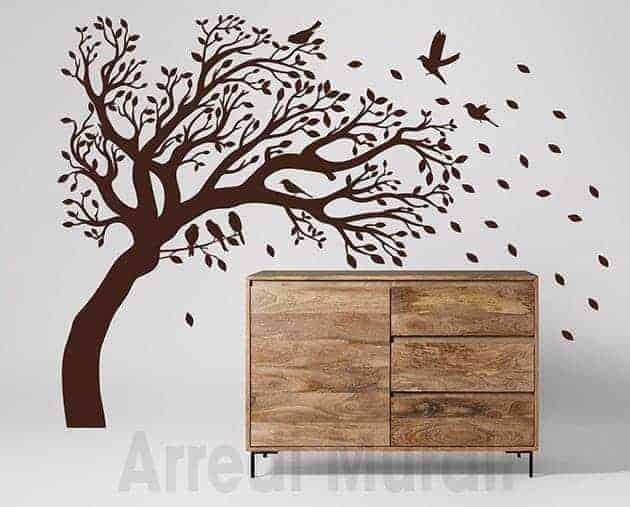 wall stickers albero decorazioni da parete casa