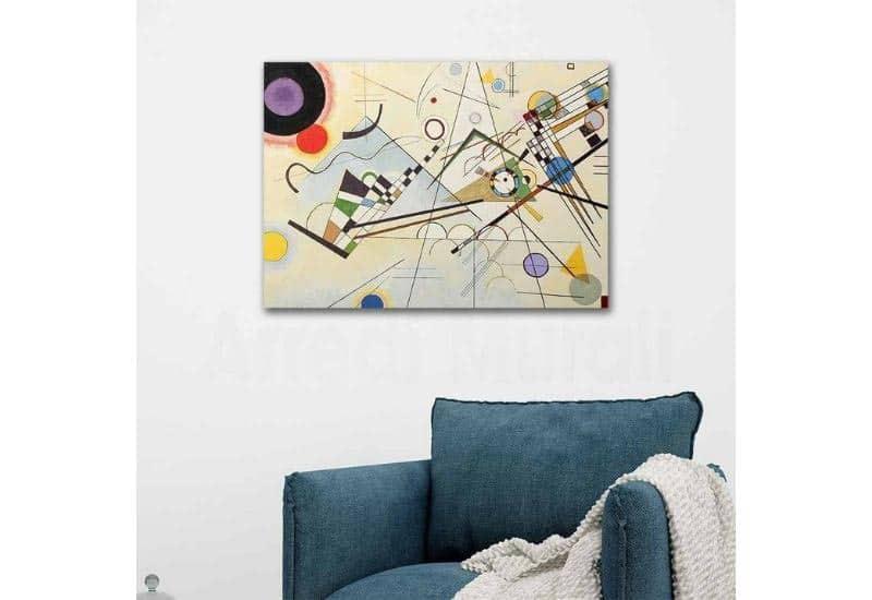 Kandinsky, Composizione VIII del 1923.