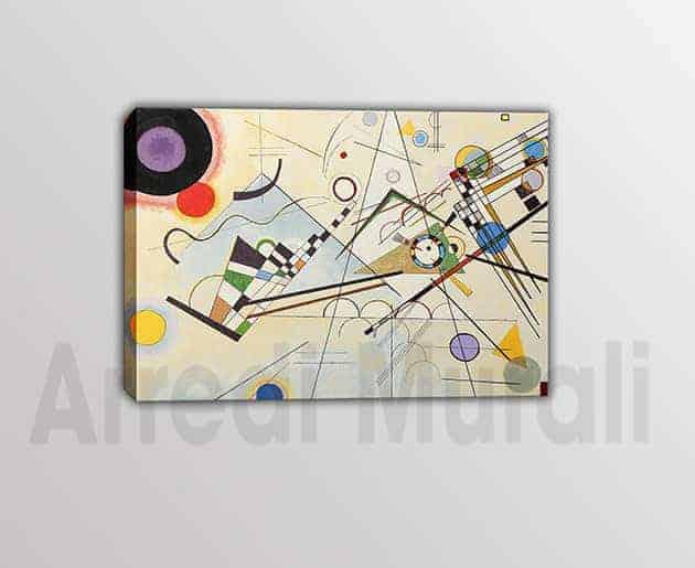 quadri riproduzione d'autore Kandinsky