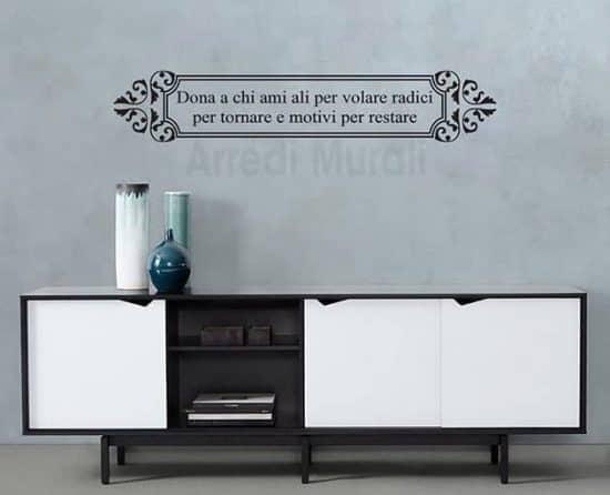 frasi personalizzate adesivi murali decorazioni da muro