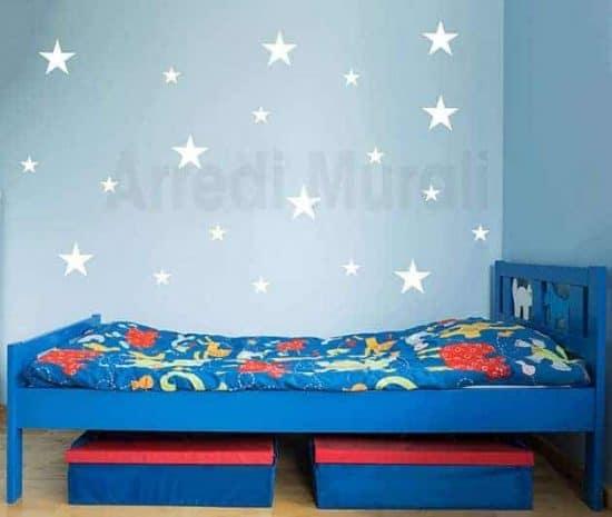 adesivi da parete stelle decorazioni murali