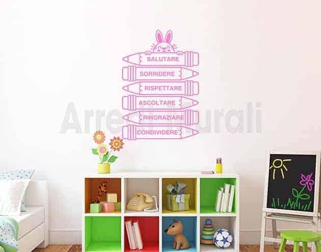 decorazioni da parete bambini adesivi cameretta