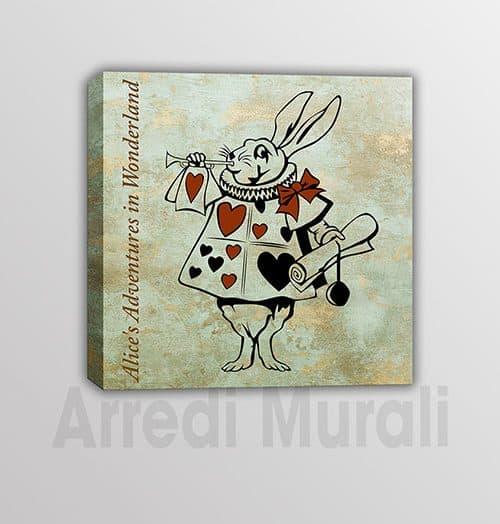 Quadro Alice nel paese delle meraviglie romanzo