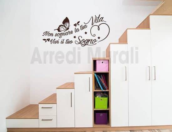frasi adesive per pareti decorazioni murali