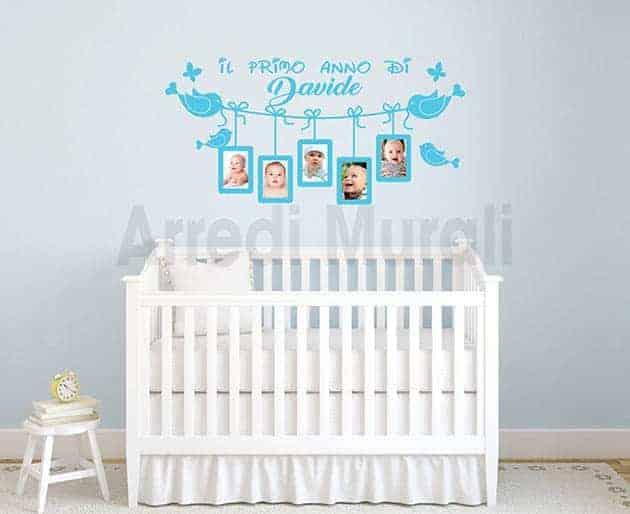 stickers personalizzati da muro cornici foto