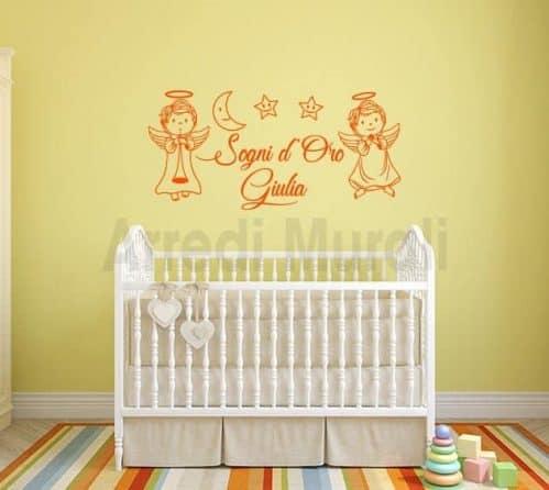 decorazione adesiva per la cameretta dei bambini