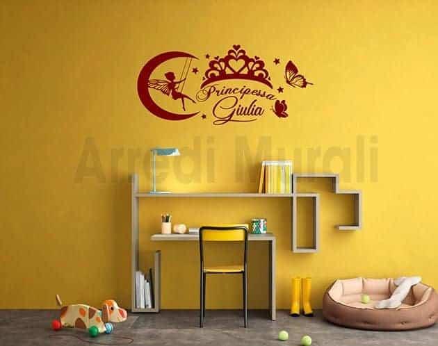 adesivi-murali-cameretta-principessa