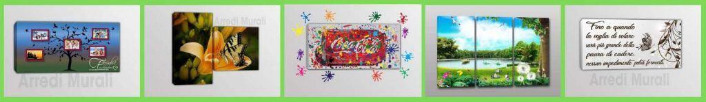 arredare le pareti con i quadri moderni su tela