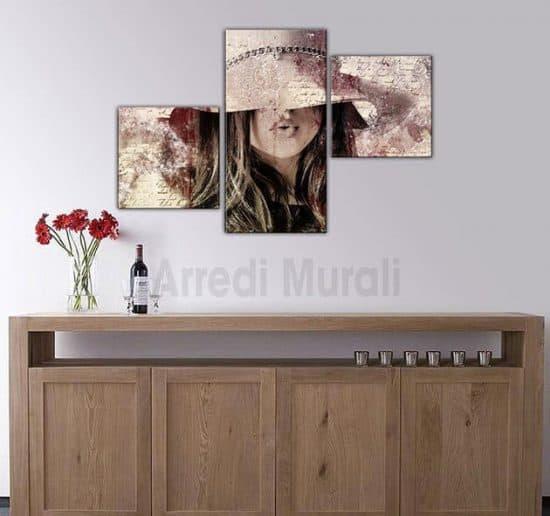 quadri moderni arte digitale donna