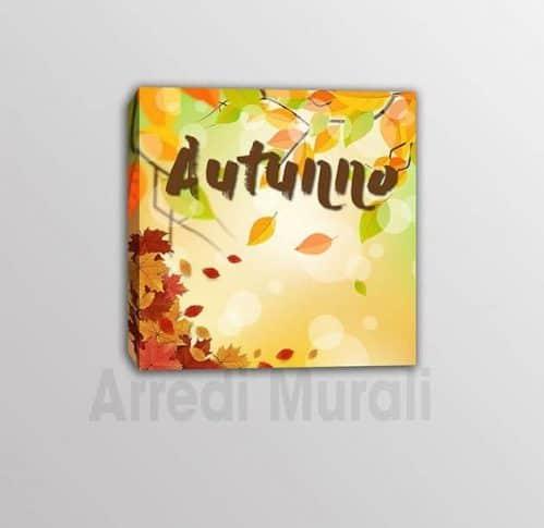 quadro moderno stampa tela autunno