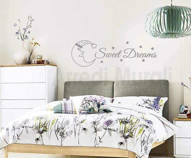DECORAZIONI PARETI CAMERA DA LETTO SWEET DREAMS WS1558