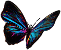 adesivi murali farfalle disegni da muro