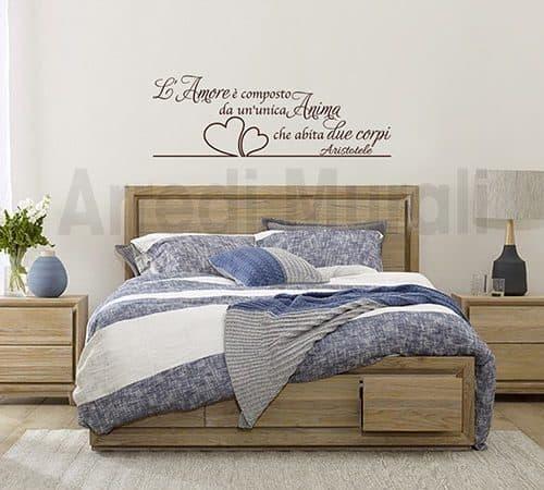 decoro camera da letto
