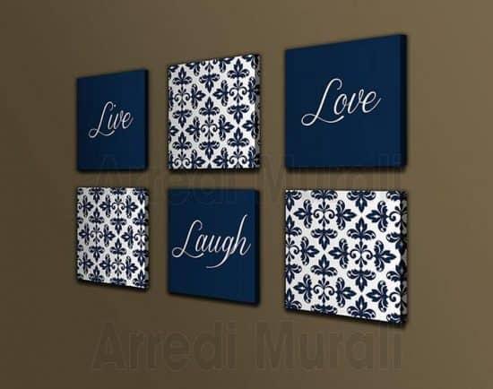 quadri moderni love design