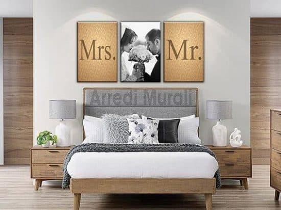 quadri moderni personalizzati stampe sposi