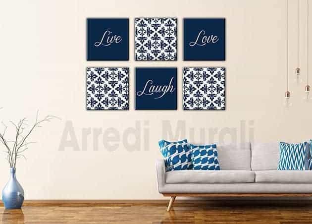 quadri moderni sei love design