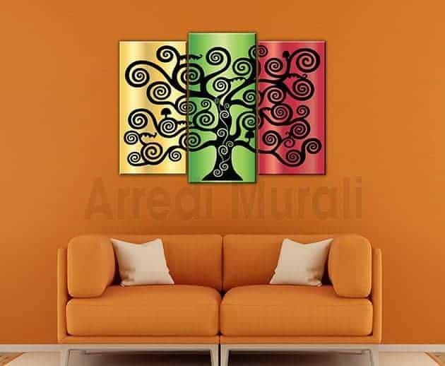 quadri moderni stampe albero della vita