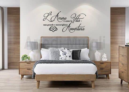 decoro pareti camera da letto