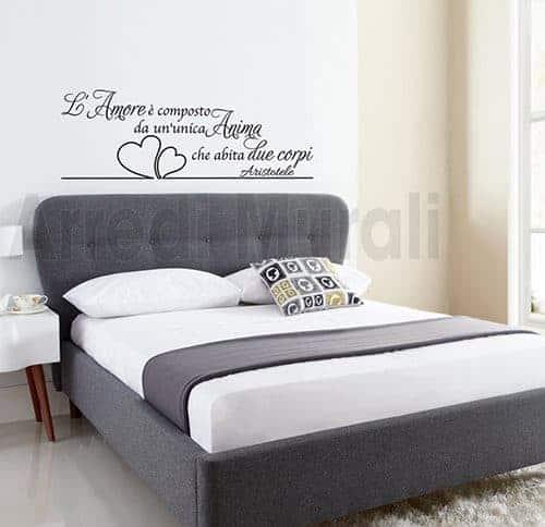 Adesivi murali camera da letto per decorare le pareti  Arredi Murali 