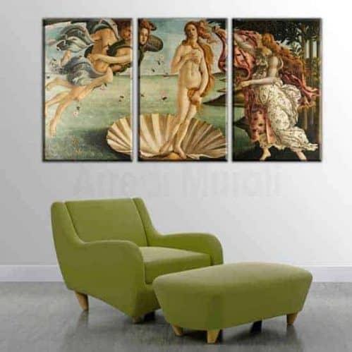 Quadri moderni riproduzioneLa nascita di Venere