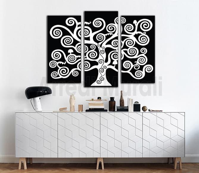 quadri moderni albero della vita stampe