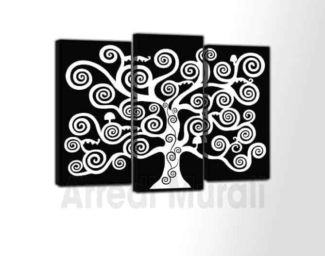 quadri moderni tele albero della vita