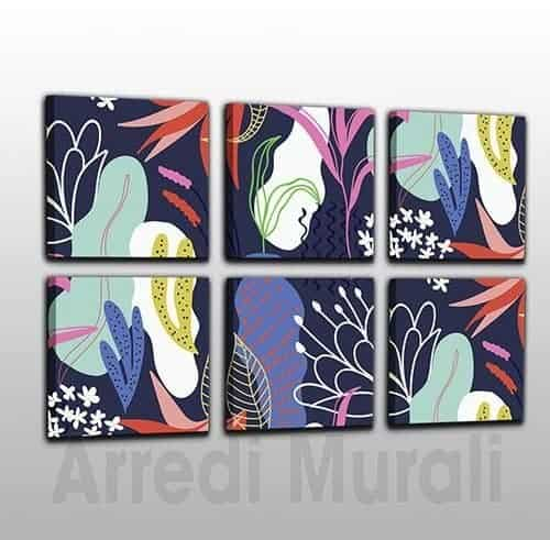 quadri moderni astratti stampe tela