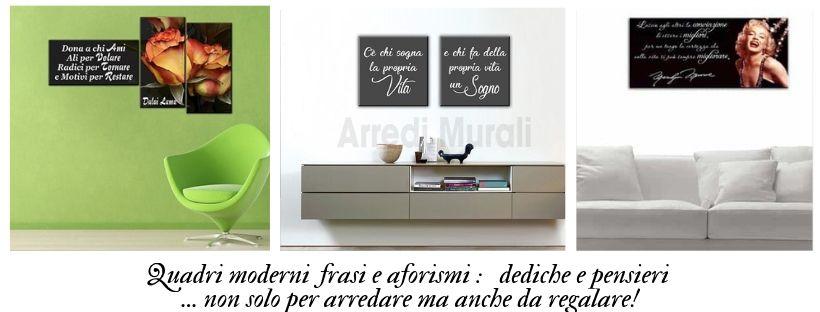 Quadri moderni frasi e aforismi, quadri moderni particolari |Arredi ...