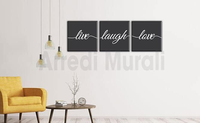 Quadri moderni stampe love arredo pareti arredimurali for Stampe d arredo