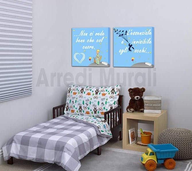 quadri piccolo principe stampe su tela