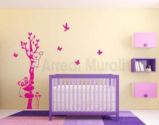 wall stickers albero camerette bambini
