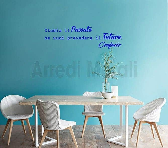 wall stickers frase confucio